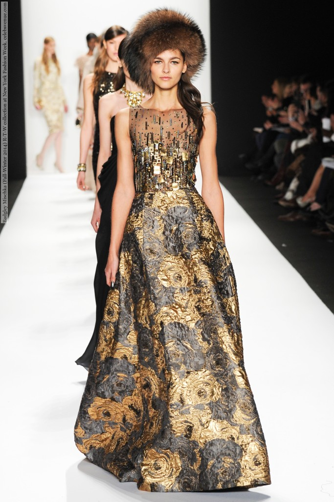 88d029228ed badgley-mischka-nyfw-2015-9 Badgley Mischka (Fall-Winter 2014) R-T-W  collection at New York Fashion Week ...